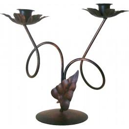 Świecznik stołowy podwójny